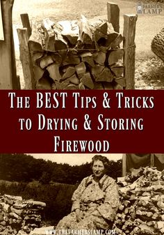 The key to heat production in firewood is knowing how to dry and store it. We share our best tips for firewood storage and drying. Outdoor Firewood Rack, Firewood Storage, Survival Tips, Survival Skills, Wilderness Survival, Diy Yard Storage, Diy Wood Stove, Cooking App, Cooking Recipes