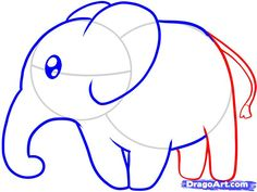 How to draw an elephant.
