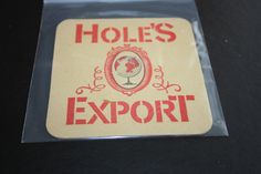 1965 Beermat Holes (Newark UK) Cat 018  (1M45) 7/14
