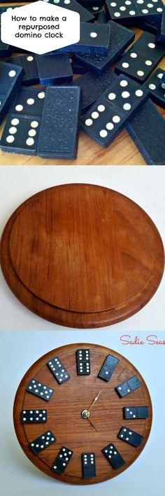 ΚΑΤΑΣΚΕΥΕΣ: ΡΟΛΟΙ ΤΟΙΧΟΥ από ξύλο κοπής και τουβλάκια ντόμινο | ΣΟΥΛΟΥΠΩΣΕ ΤΟ