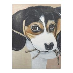 #Beagle Puppy Fleece Blanket - #cute #gifts #cool #giftideas #custom