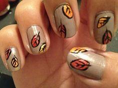 20 Stunning Fall Nail Art Design Ideas                                                                                                                                                     More