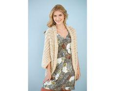 Simple Crochet Shrug. FREE crochet pattern