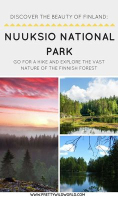 Interested to visit Helsinki but also want to see Finland's nature? Nuuksio National Park is only an hour away from the capital! Perfect for a day hike!
