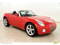 2008 Solstice Roadster - Aggressive Red / Ebony Interior