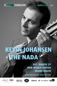 KEVIN JOHANSEN & THE NADA, live at New World Center, Miami, March 29, @k_Johansen @RF WorldMusic #kevinjohansen #argentina #miami