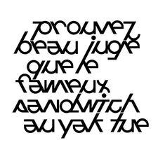 typographie modulaire luc vega www.368.ch