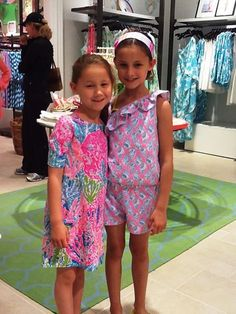 If i am blessed with little girls someday, their closets will be filled with Lilly