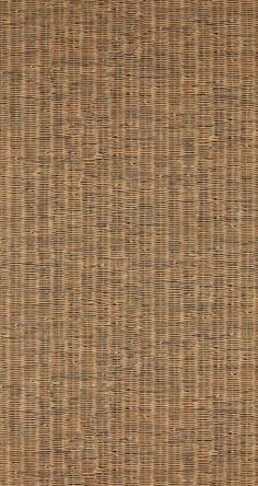 Rustic Contemporary Raw Classic Brown Wicker Wallpaper R4294 – Walls Republic US