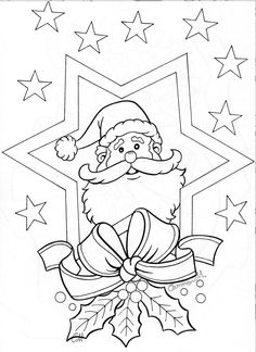 pergamano - Page 3 Christmas Colors, Christmas Art, Christmas Projects, Xmas, Christmas Coloring Pages, Coloring Book Pages, Christmas Activities, Christmas Printables, Illustration Noel