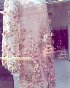Beautiful dress from @trelisecooper so gorgeous detailing.@britomartnz #fashion #fashionista #dress #detailing #detailersofinstagram #pink #embroidery #art #butterfly #instagram #love #loveit #pretty #clothes #britomartnz #auckland #newzealand #nzmade #designer