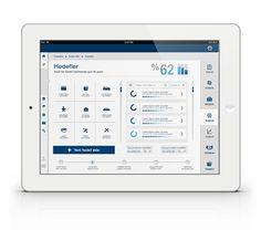 Mobile Bank App 3 by sinan ozdemir, via Behance