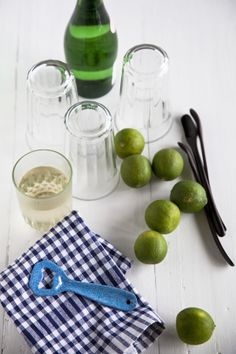 fresh lime fizz by yummy supper