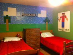 Real Life Minecraft Bedroom Room
