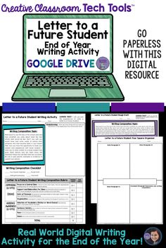 Letter to a Future Students: Real World Digital Writing Activity for Middle School Students