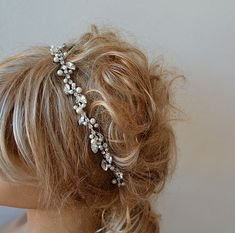 Hey, I found this really awesome Etsy listing at https://www.etsy.com/listing/209733147/marriage-bridal-headband-rhinestone-and