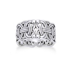 Viking Braided Wedding Band Borre Knot Norse Celtic 10mm Sterling Silver Ring Size 6 Silver Insanity http://www.amazon.com/dp/B002SX8L3K/ref=cm_sw_r_pi_dp_4Afiub0S520H6