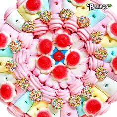 Tarta de chuches con colores increíbles!!!