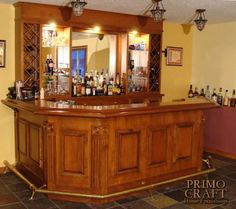 Home bar... Like only want a darker color