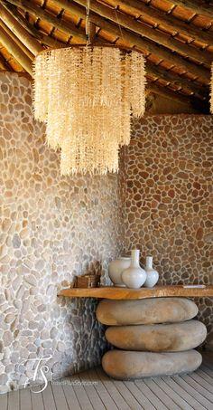 Original decoración con elementos rústicos