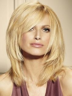 Medium hair cuts 2013. Really like this length and style.