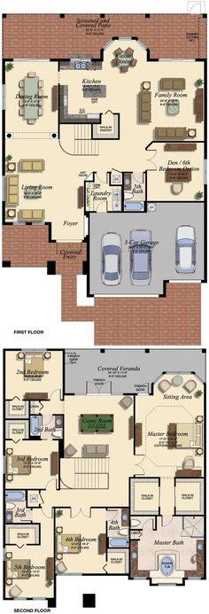 VENETIAN/678 Floor Plan (Large View)