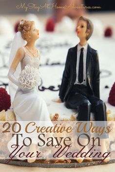 Want to learn  creative ways to save money on your wedding? Here are 20 creative ways to save on your wedding and staying on budget.