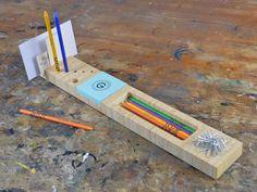 Set pour bureau en bois
