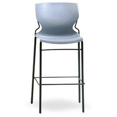 OCISitwell SD Armless Stacking Chair Frame Finish: Chrome, Seat Finish: Wine