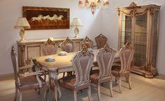 Mucize Tasarım Saltanat Yemek Odası - http://www.mobilyakulisi.com/mucize-tasarim-saltanat-yemek-odasi.html