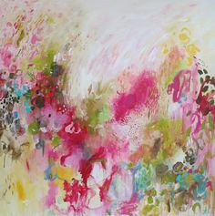 Art painting-colorful abstract painting Abstract por artbyoak1
