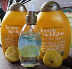 A Brighter Summer with OGX Lemon Highlights Collection