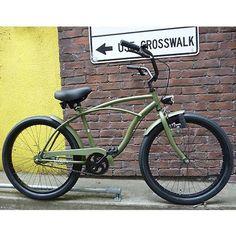 Custom Beach Cruiser, Beach Cruiser Bikes, Cruiser Bicycle, Velo Retro, Retro Bicycle, Cool Bicycles, Cool Bikes, Bike Wagon, Vintage Bicycles
