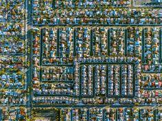 Нью-Йорк и Лос-Анджелес с высоты птичьего полета