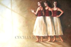 Ballet Skirt, Skirts, Fashion, Oil On Canvas, Canvases, Moda, Tutu, Fashion Styles, Skirt