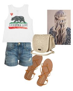 """""""Untitled #3"""" by mayarose1704 ❤ liked on Polyvore featuring Billabong and Current/Elliott"""