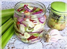Pickles, Cucumber, Mason Jars, Avocado, Food, Lawyer, Essen, Mason Jar, Meals