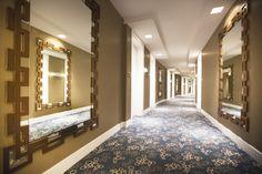 / Interior decoration of our hotel's corridor. Hotel Corridor, Interior Decorating, Decoration, Artwork, Room, Furniture, Home Decor, Drawing Room Interior, Dekoration