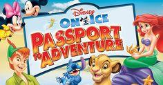 Disney on Ice Presents Passport to Adventure : Macaroni Kid Disney On Ice, Play To Learn, Disney Channel, Family Activities, Passport, Finding Yourself, Presents, Adventure, Learning