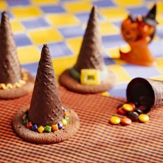 An easy to make witch hat surprise! #Halloween #Food | best stuff