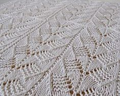 Knitting Pattern for Gacoco Baby Blanket - #ad Modular lace baby blanket with naturally wavy edges. Love the lace pattern! It's made in 15 inch x 15 inch blocks so you can join in blocks to make as big as you want.