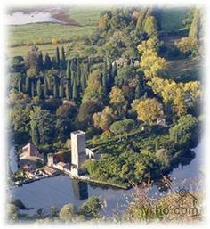 """This medieval town is also known for the famous """"Ninfa Garden"""" that contains at least 19 varieties of deciduous Magnolia, along with birch, aquatic Iris and a sensational variety of Japanese maples growing in the eight hectares of the garden."""