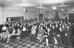 Sealtest Ice Cream Co., Christmas Party c 1945 Syracuse, NY