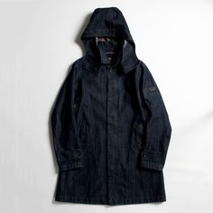 AIGLE×BLUE BLUE【オム】 GORE-TEX DENIM RAIN COAT