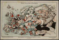 'Das heutige Europa' (Today's #Europe). Published in Zurich by Caesar Schmidt [ca. 1875].