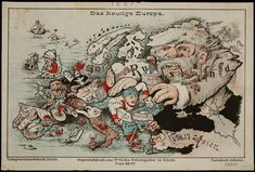 'Das heutige Europa' (Today's #Europe). Published in Zurich by Caesar Schmidt [ca. 1875].