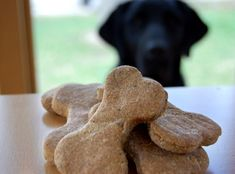 PB Molasses Dog Treats by napervilleanimalhospital #Dog_Treats #PB #Molasses #napervilleanimalhospital