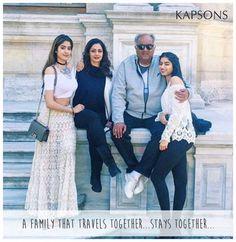 Fam-Jam♥♥♥ #Kapsons #CelebrityStyles #Sridevi #KhushiKapoor