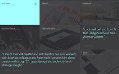 Jan Finnesand #webdesign #inspiration #UI #Clean #Minimal #Responsive Design #Fullscreen #Portfolio #Flat Design #Black #White #Green