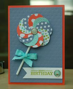 Julie Kettlewell - Stampin Up UK Independent Demonstrator - Order products More Decathlon projects Bday Cards, Kids Birthday Cards, Scrapbook Ideas For Birthday, Teen Birthday, Birthday Gifts, Making Greeting Cards, Greeting Cards Handmade, Homemade Greeting Cards, Homemade Birthday Cards